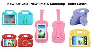 New iPad and Samsung Tablet Cases