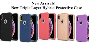 New Triple Layer Hybrid Protective Case
