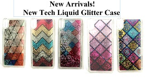 New Tech Liquid Glitter Case