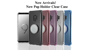 New Pop Holder Clear Case