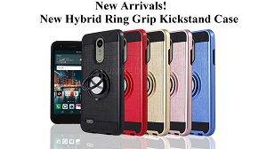 New Hybrid Ring Grip Kickstand Case