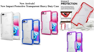 New Impact Protective Transparent Heavy Duty Case