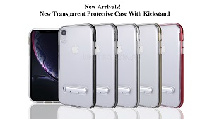 New Transparent Protective Case With Kickstand