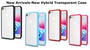 New Hybrid Transparent Case