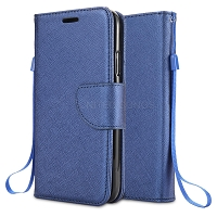 iPhone 11 Pro Wallet Case Blue