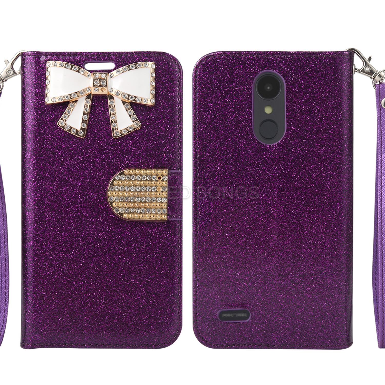 LG Tribute Dynasty SP200/Aristo 2 X210MA Sparkle Wallet Case