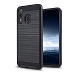 Samsung Galaxy A40 Hybrid Case Black