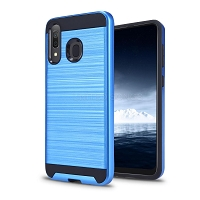 Samsung Galaxy A40 Hybrid Case Blue