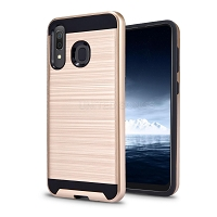 Samsung Galaxy A40 Hybrid Case Gold