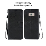 Samsung Galaxy S8 Plus Wallet Case Black