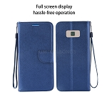 Samsung Galaxy S8 Wallet Case Blue