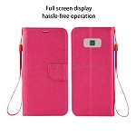 Samsung Galaxy S8 Wallet Case Pink