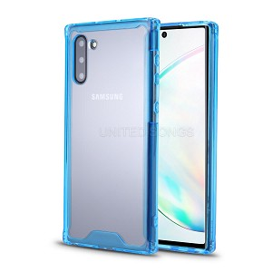 Samsung Galaxy Note 10 New Tech Hybrid Case Blue